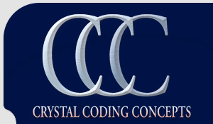 Crystal Coding Concepts Logo